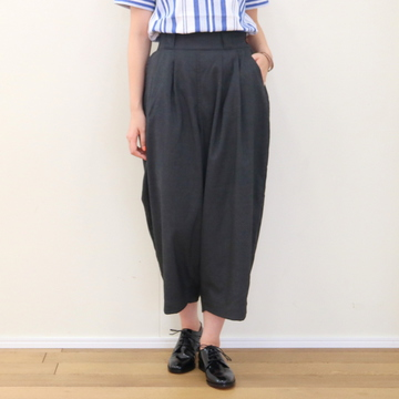 HARVESTY(ハーベスティ) WIDE EGG PANTS【T】