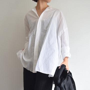 TOUJOURS(トゥジュー) Gathered Back Shirt(2色展開)【K】
