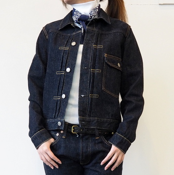 LENO&Co.(リノアンドコー)/BLENDA 1st type JEAN JACKET【T】
