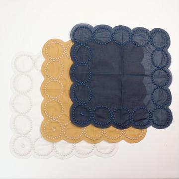 mina perhonen(ミナ ペルホネン)tambourine ハンカチ(3色展開)