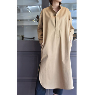 CristaSeya(クリスタセヤ)  Japanese heavy cotton maxi tunic