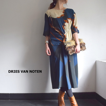 DRIES VAN NOTEN(ドリスヴァンノッテン) DELFONT 4258 DRESS 【K】
