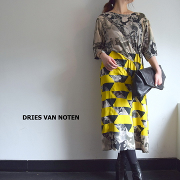 DRIES VAN NOTEN(ドリスヴァンノッテン) DELFONT 4250 DRESS【K】