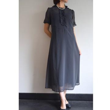 Bilitis dix-sept ans(ビリティス・ディセッタン)Frilled Collar Dress(Dot)