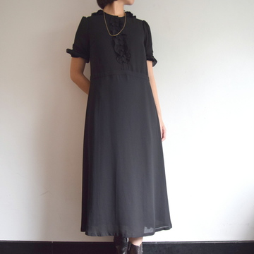 Bilitis dix-sept ans(ビリティス・ディセッタン)Frilled Collar Dress(Plain)