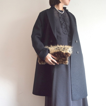 HARRIS WHARF LONDON(ハリスワーフロンドン) Women boxy man d.b.coat