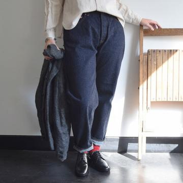 YAECA(ヤエカ) デニム ワイドテーパード【K】