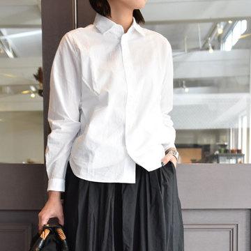YAECA(ヤエカ) コンフォートシャツリラックス(WHITE)