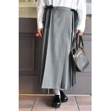 TOUJOURS(トゥジュー) Kilt Pleated Long Skirt(キルトプリーツロングスカート)