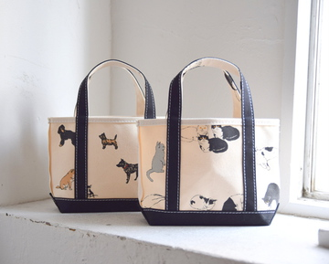 TEMBEA(テンベア) OPEN TOTE MINI(CAT/DOG) 【K】