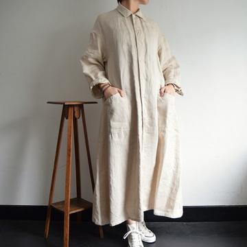 YAECA(ヤエカ) ワークシャツドレス【K】
