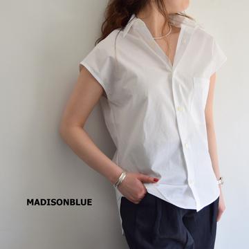 MADISONBLUE(マディソンブルー) SLEEVELESS J.BRADLEY SHIRT(2色展開)【K】