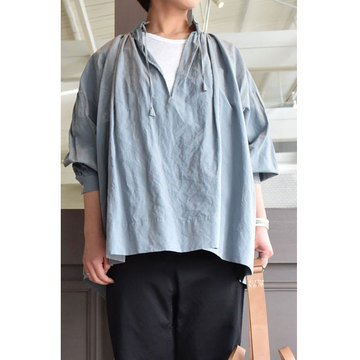 TOUJOURS(トゥジュー) String Surplice Shirt(ストリングサープリスシャツ)