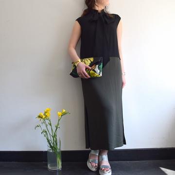 DRIES VAN NOTEN(ドリスヴァンノッテン)DECUSSIS BIS 5183 ドレス【K】