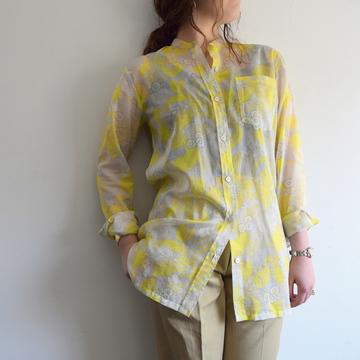 DRIES VAN NOTEN(ドリスヴァンノッテン)CALYBA 5003 バンドカラーシャツ(2色展開)【K】