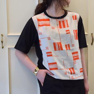 DRIES VAN NOTEN(ドリスヴァンノッテン)HAYDU BIS 5635 プリントTシャツ(2色展開)【K】