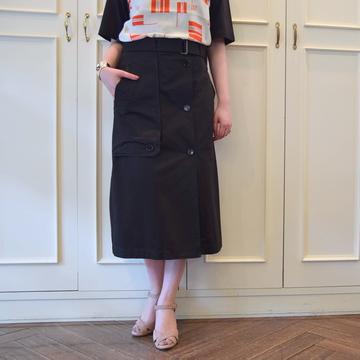 【40% off sale】DRIES VAN NOTEN(ドリスヴァンノッテン)SECCAL 5319 スカート(2色展開)【K】
