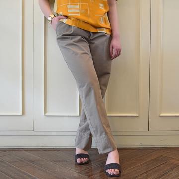 【40% off sale】DRIES VAN NOTEN(ドリスヴァンノッテン)POINTE 5319 パンツ(2色展開)【K】