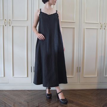 Bilitis dix-sept ans(ビリティス・ディセッタン) Linen Camisole Dress(2色展開)【K】