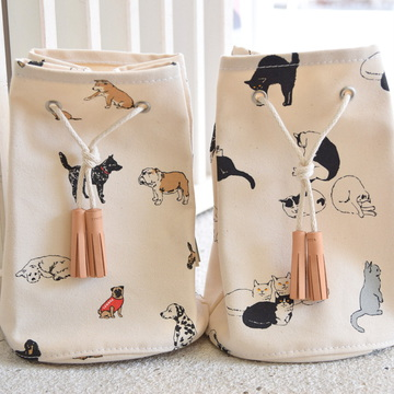 TEMBEA(テンベア) GAME POUCH (DOG/CAT)【K】