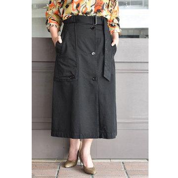 【50% off sale】DRIES VAN NOTEN(ドリスヴァンノッテン) SECCAL5319 (ベルト付きスカート/2色展開)