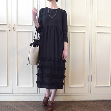Bilitis dix-sept ans(ビリティス・ディセッタン) Linen Dress