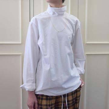 DRIES VAN NOTEN(ドリスヴァンノッテン)CONTISA 6269 ハイネックシャツ(2色展開)【K】