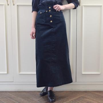 MW TOKYO(エムダブリュートーキョー) コーデュロイタイトスカート【K】