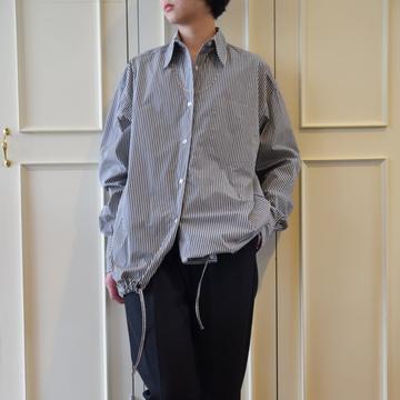 DRIES VAN NOTEN(ドリスヴァンノッテン)W.W.SHIRT(ドローストリングシャツ)【K】
