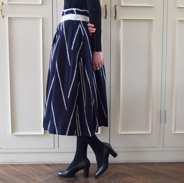 mina perhonen(ミナ ペルホネン) sun stick skirt WA5108【K】