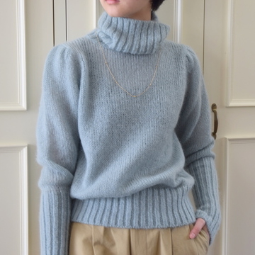 【40%OFF SALE】Bilitis dix-sept ans(ビリティス・ディセッタン) Mohair Turtle Neck(2色展開)2914-509【K】