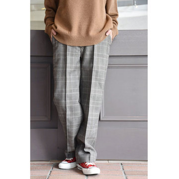 LENO&Co.(リノアンドコー) / WOOL GLEN CHECK TROUSERS