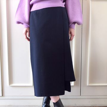 Graphpaper(グラフペーパー)Cotton Nylon Stretch Skirt【K】