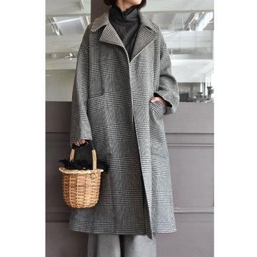 TOUJOURS(トゥジュー) Oversized Trench Robe Coat(オーバーサイズドトレンチローブコート)
