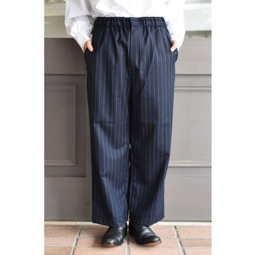 TOUJOURS(トゥジュー) Easy Trousers(ストライプイージートラウザー)