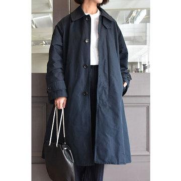 TOUJOURS(トゥジュー) Oversized Flared Soutien Collar Coat(オーバーサイズドフレアーステンカラーコート)