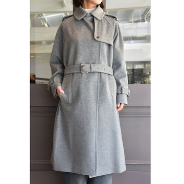 TENNE HANDCRAFTED MODERN(テン ハンドクラフテッドモダン) OVER SIZED TRENCH COAT