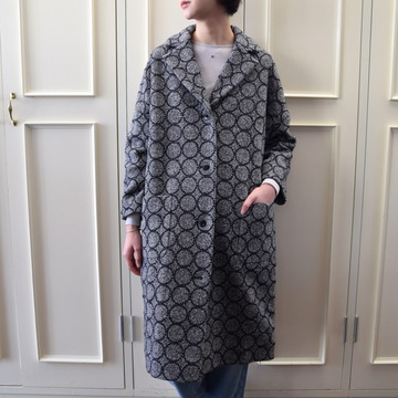 mina perhonen(ミナ ペルホネン) tambourine tailored coat WA6592【K】