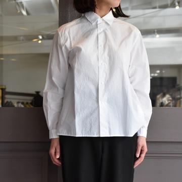 YAECA(ヤエカ) コンフォートシャツリラックス スクエアL(WHITE) #68152