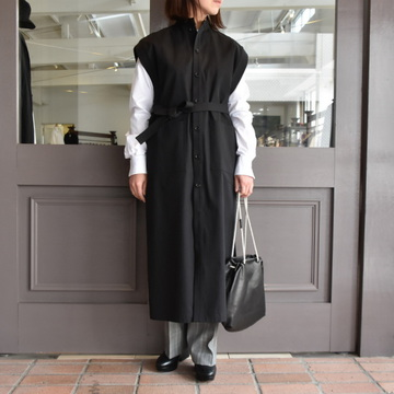 AURALEE(オーラリー) WASHED CAVARLY TWILL ONE-PIECE #A9SD03CT