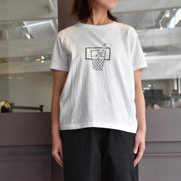 YAECA(ヤエカ) プリントTシャツ trash