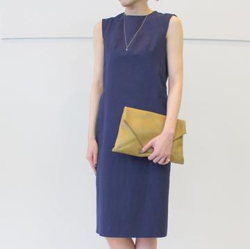 DRIES VAN NOTEN(ドリスヴァンノッテン)ノースリーブドレス DORA7327 W.W.DRESS【K】