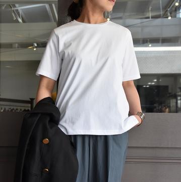 YLÈVE(イレーヴ) クルーネックTシャツ #168-9168052