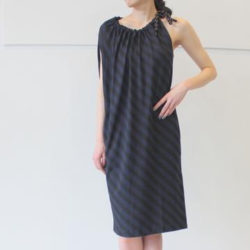 DRIES VAN NOTEN(ドリスヴァンノッテン)ドローコードノースリーブドレス HANPR7615 W.W.DRESS【Z】
