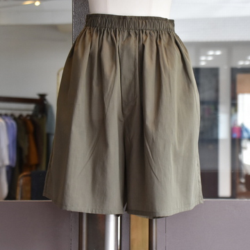 CristaSeya(クリスタセヤ)/ LIGHT COTTON MAXI MAXI BOXER SHORT(Khaki)