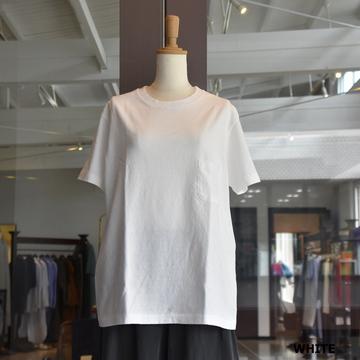 YAECA(ヤエカ) 丸胴クルーネックTシャツPK (4色展開) #89012 【Z】